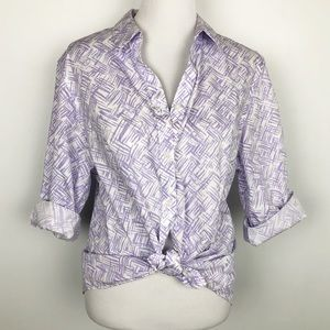 Chico's Wrinkle Resistant Blouse. L (3).